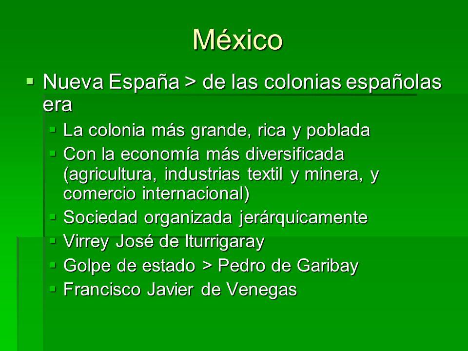 México Nueva España > de las colonias españolas era
