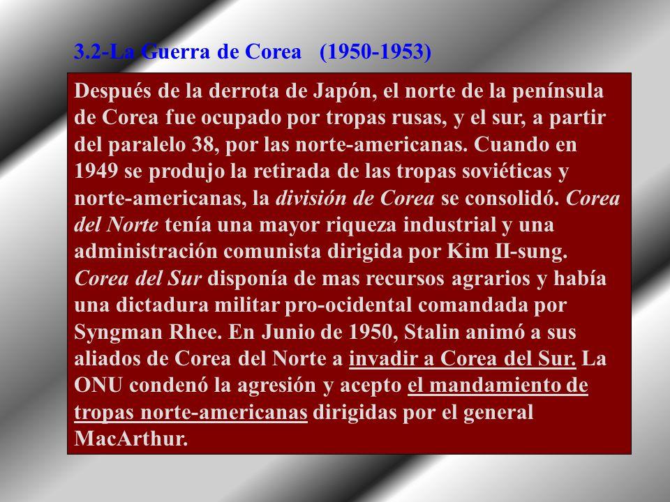 3.2-La Guerra de Corea (1950-1953)