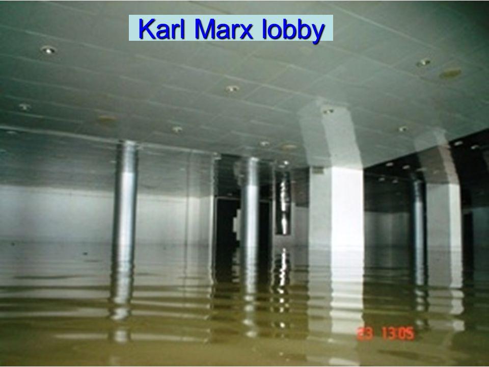 Karl Marx lobby Karl Marx lobby