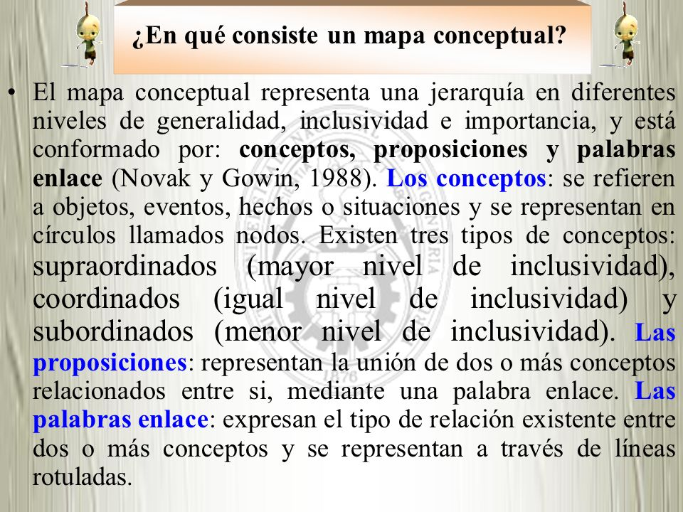 ¿En qué consiste un mapa conceptual
