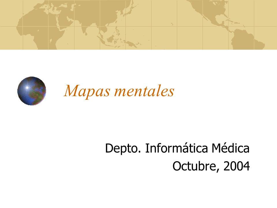 Depto. Informática Médica Octubre, 2004