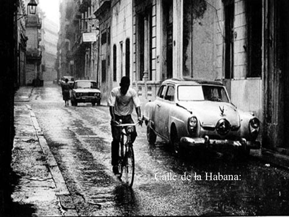 Calle de la Habana: