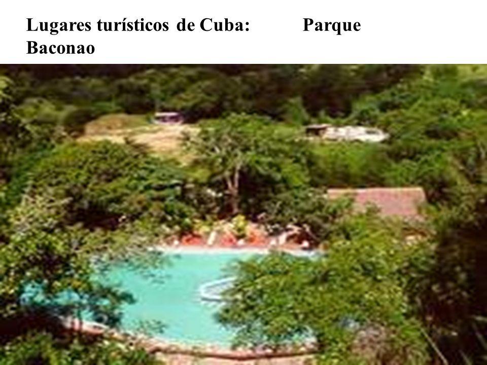 Lugares turísticos de Cuba: Parque Baconao