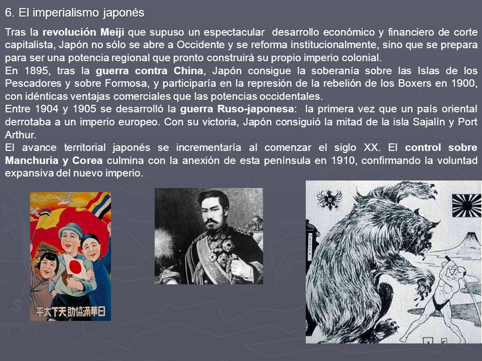 6. El imperialismo japonés