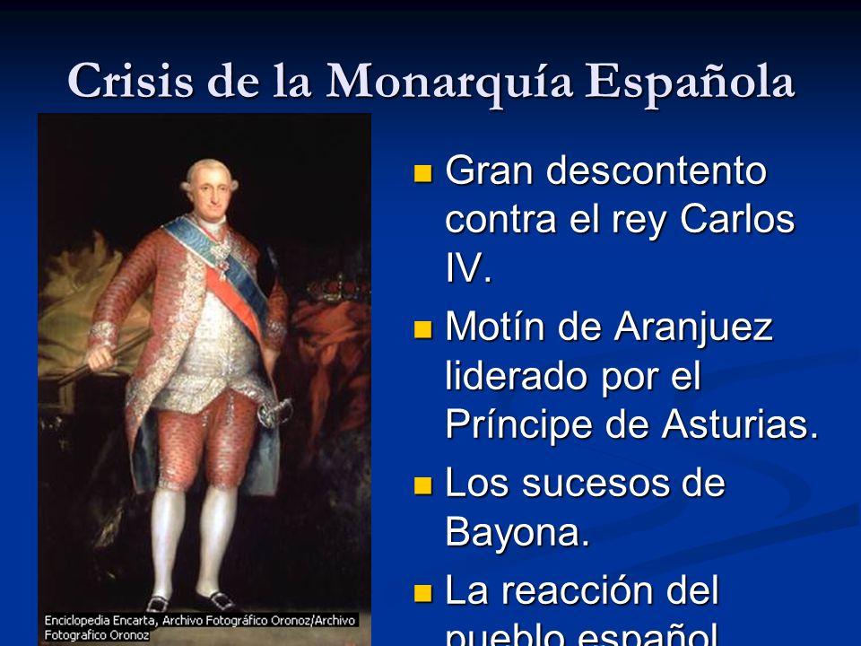 Crisis de la Monarquía Española