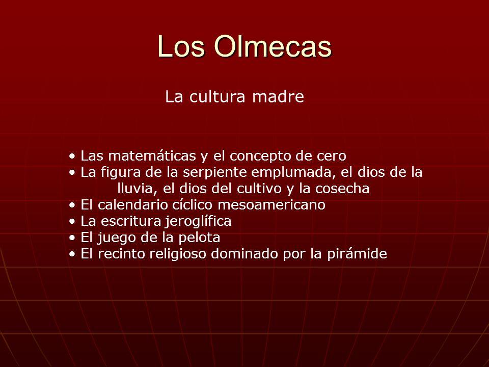 Los Olmecas La cultura madre Las matemáticas y el concepto de cero