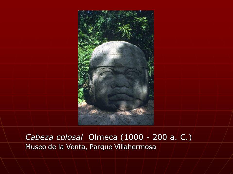 Cabeza colosal Olmeca (1000 - 200 a. C.)