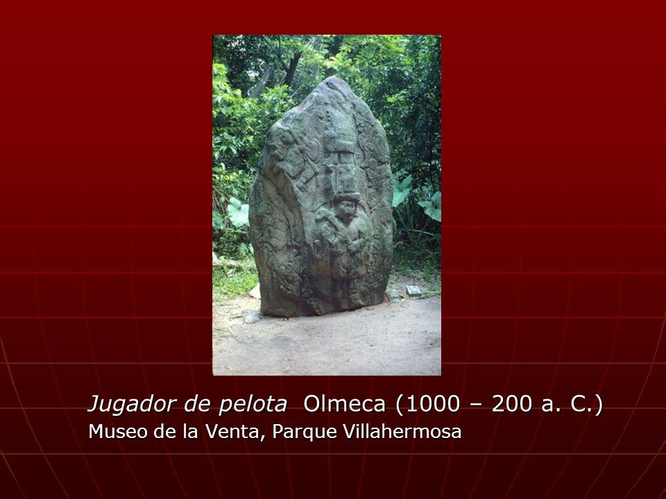 Jugador de pelota Olmeca (1000 – 200 a. C.)