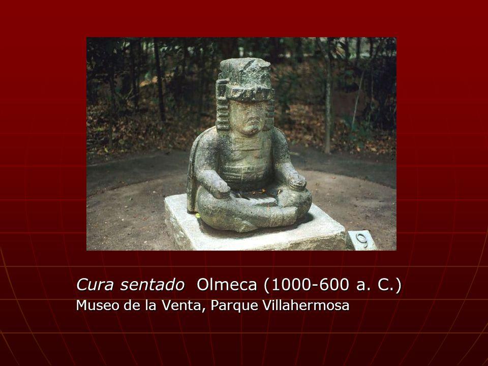 Cura sentado Olmeca (1000-600 a. C.)