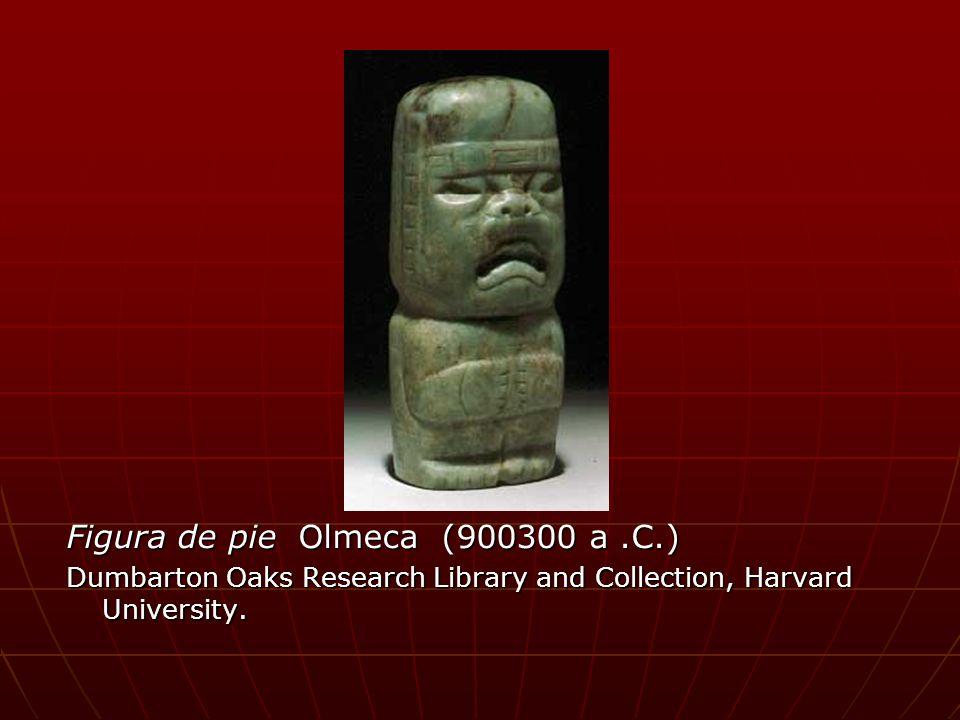 Figura de pie Olmeca (900300 a .C.)