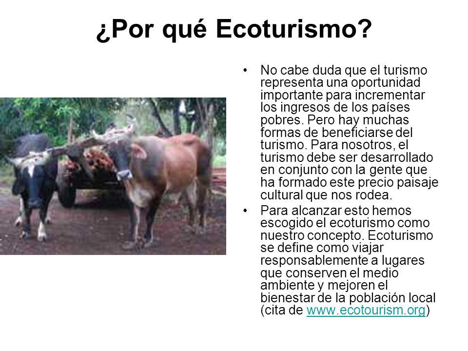¿Por qué Ecoturismo