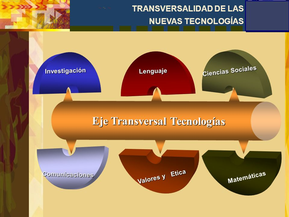 Eje Transversal Tecnologías