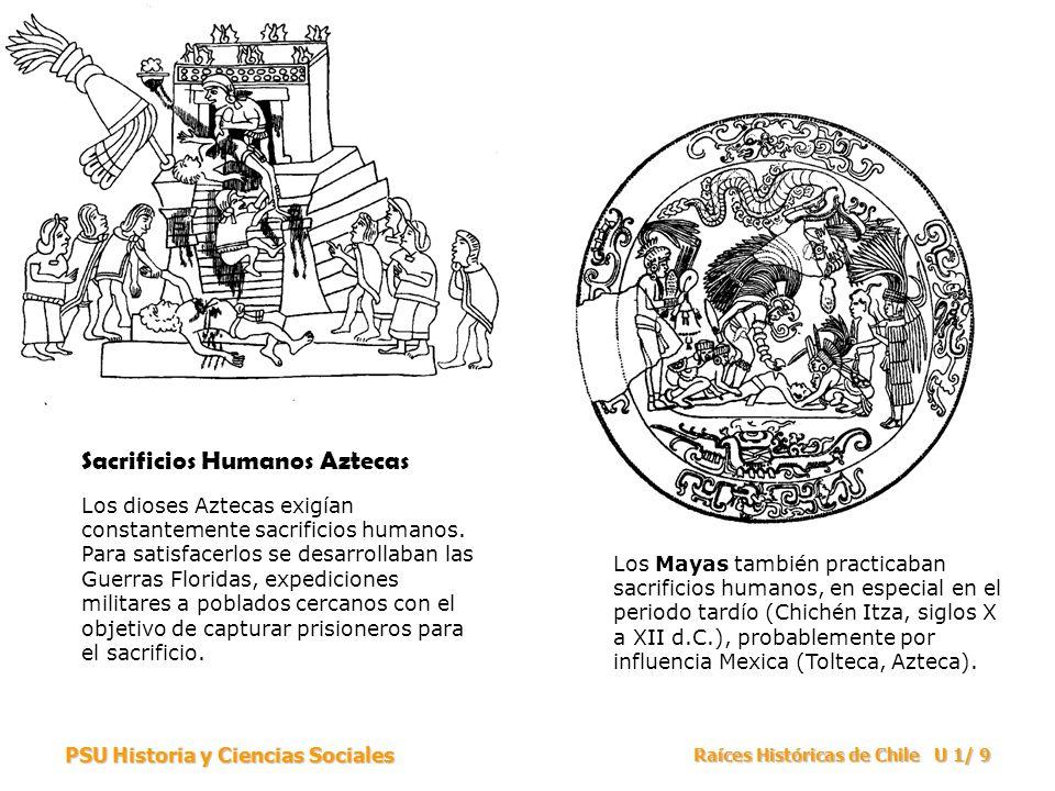 Sacrificios Humanos Aztecas