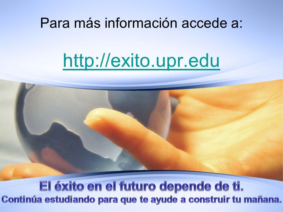 Para más información accede a: