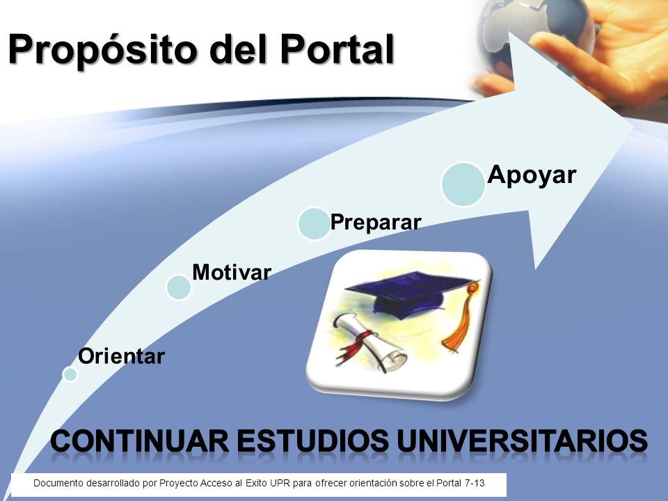 Continuar estudios universitarios