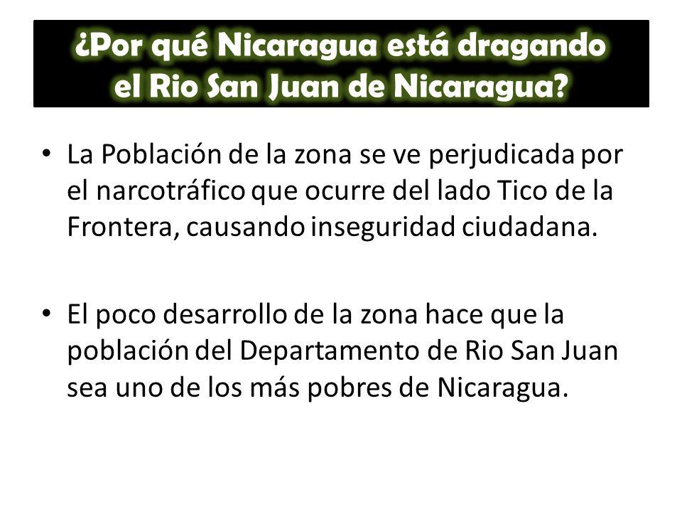 ¿Por qué Nicaragua está dragando el Rio San Juan de Nicaragua