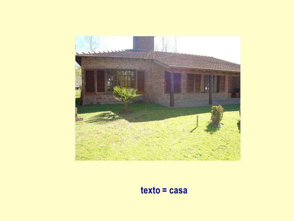 texto = casa