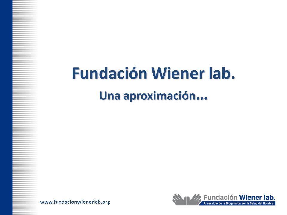 Fundación Wiener lab. Una aproximación…