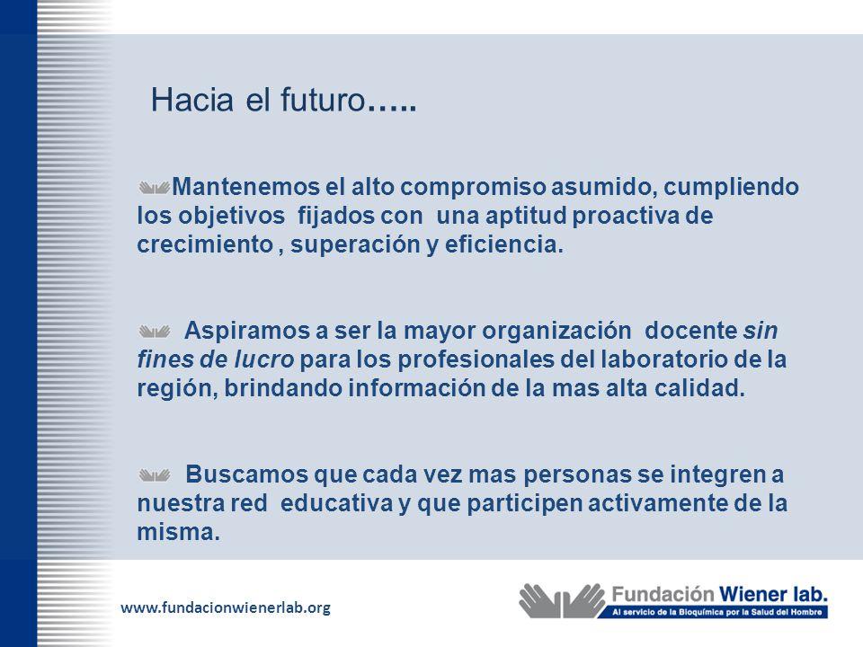 Hacia el futuro…..