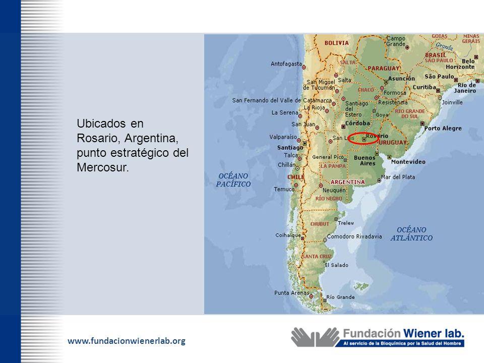 Ubicados en Rosario, Argentina, punto estratégico del Mercosur.