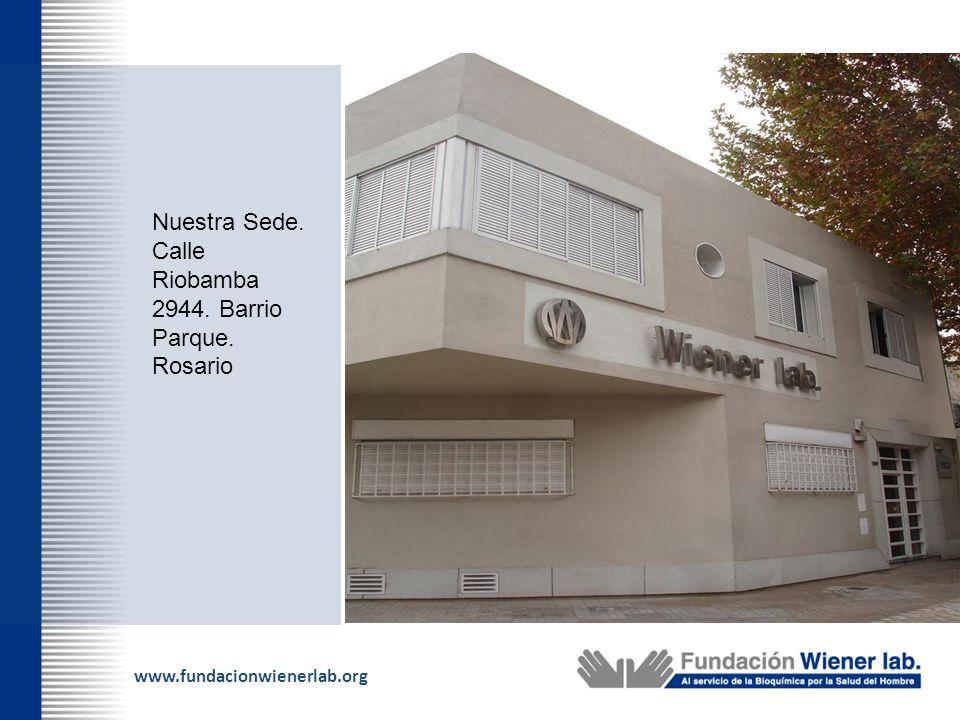 Nuestra Sede. Calle Riobamba 2944. Barrio Parque. Rosario