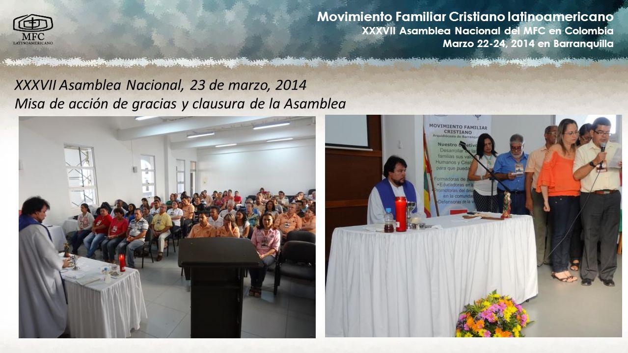 XXXVII Asamblea Nacional, 23 de marzo, 2014