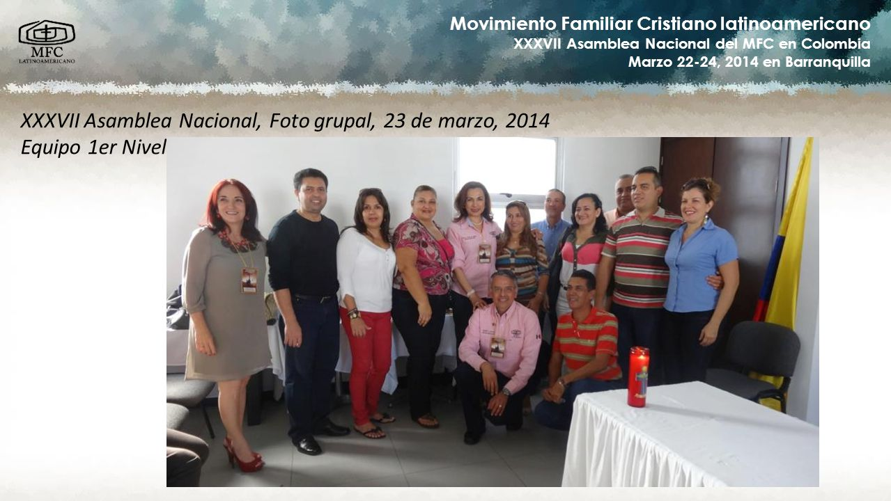 XXXVII Asamblea Nacional, Foto grupal, 23 de marzo, 2014