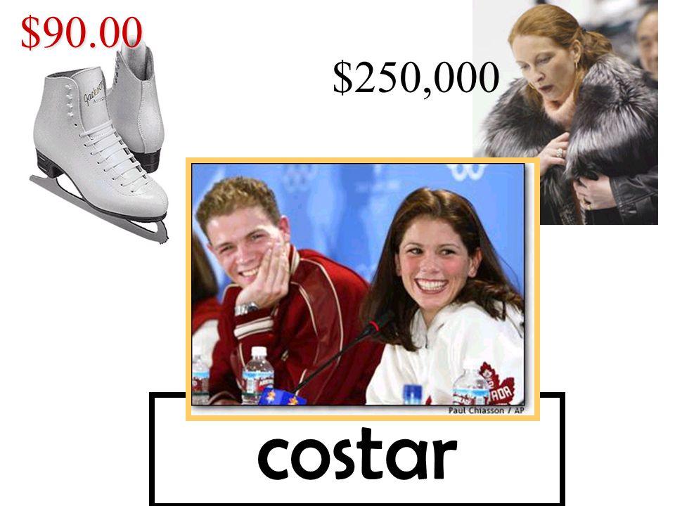 $90.00 $250,000 costar