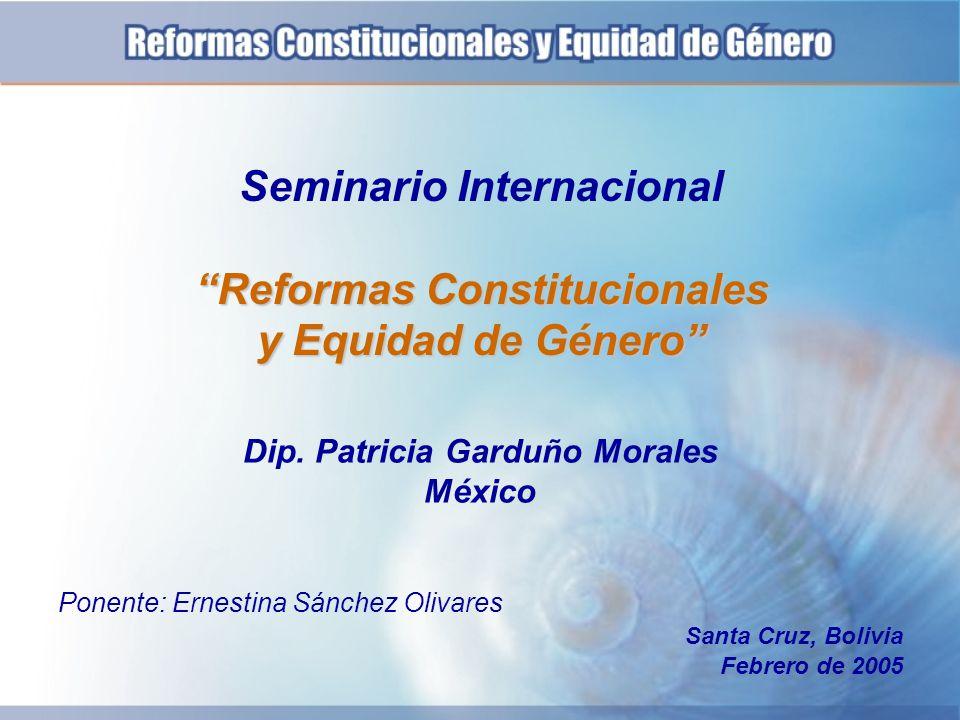Dip. Patricia Garduño Morales