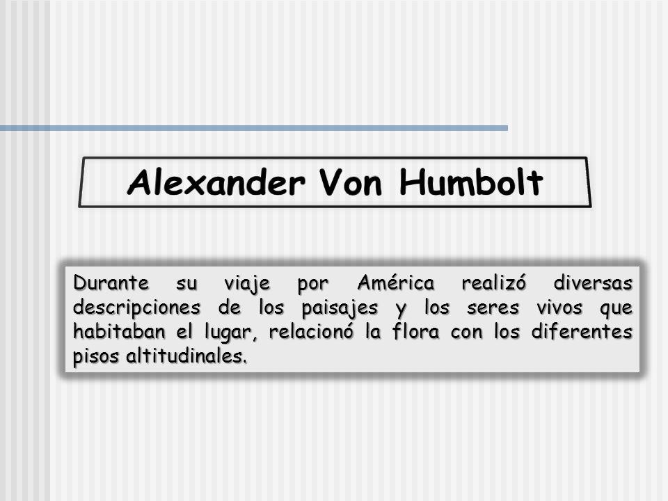 Alexander Von Humbolt
