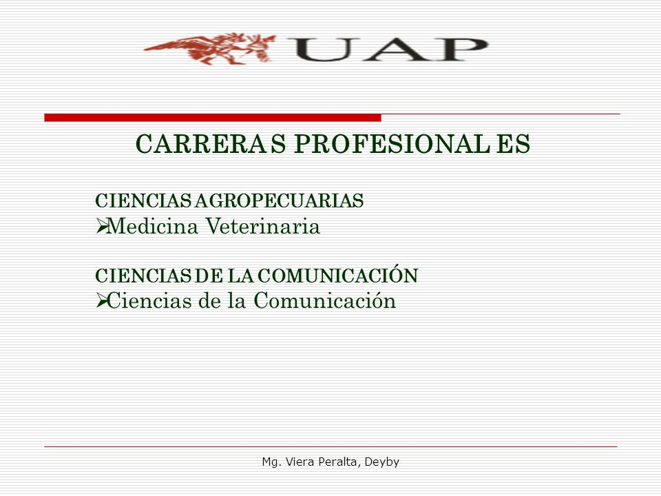 CARRERA S PROFESIONAL ES