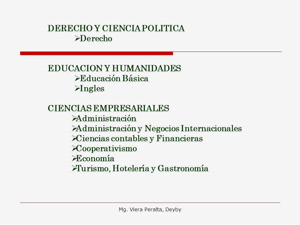 DERECHO Y CIENCIA POLITICA Derecho