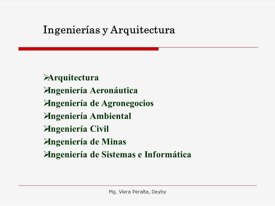Ingenierías y Arquitectura