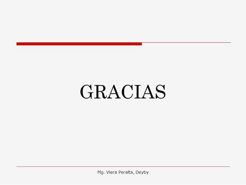 GRACIAS Mg. Viera Peralta, Deyby
