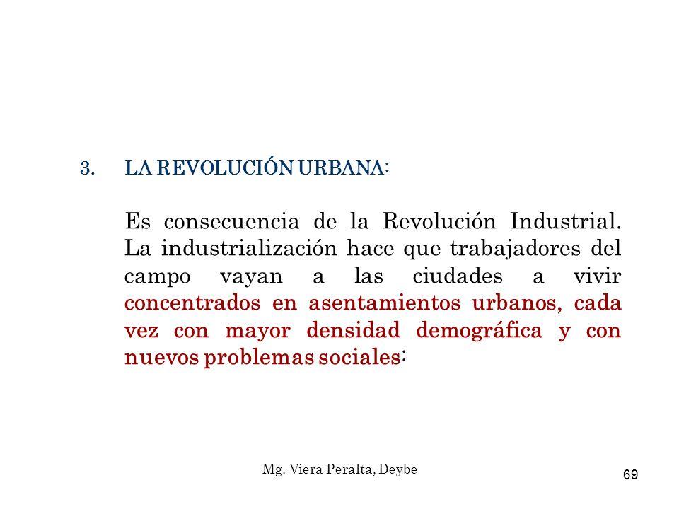 LA REVOLUCIÓN URBANA: