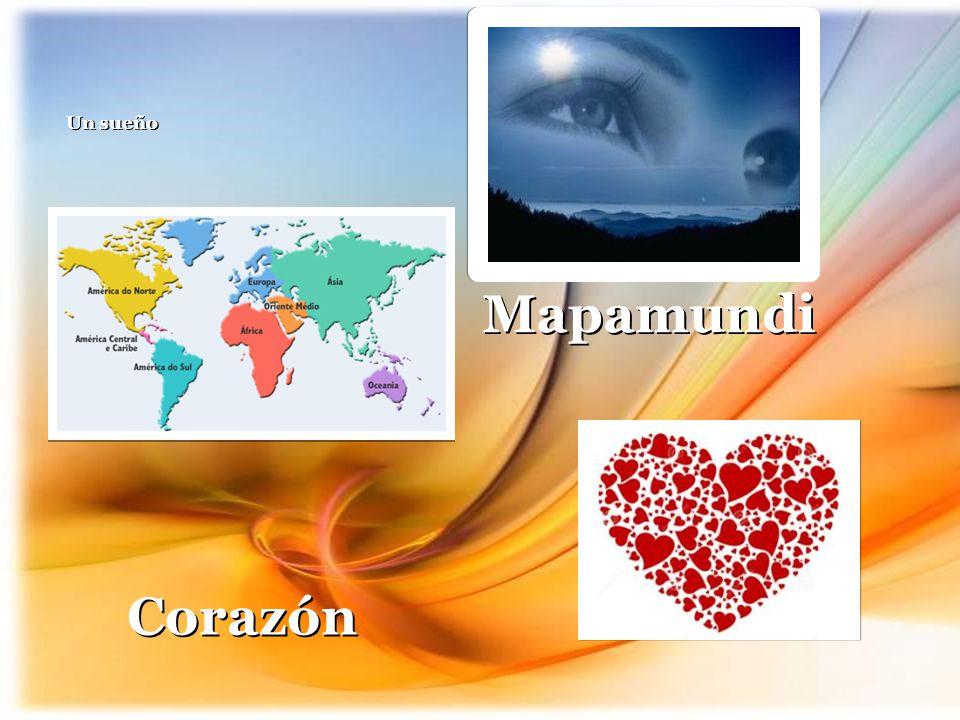 Un sueño Mapamundi Corazón 12