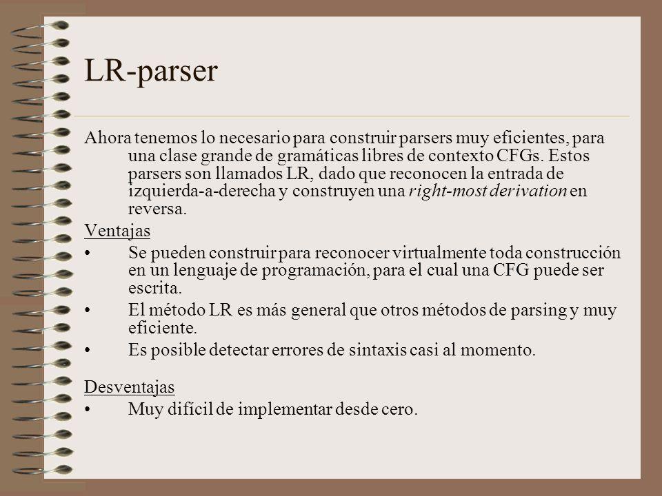 LR-parser