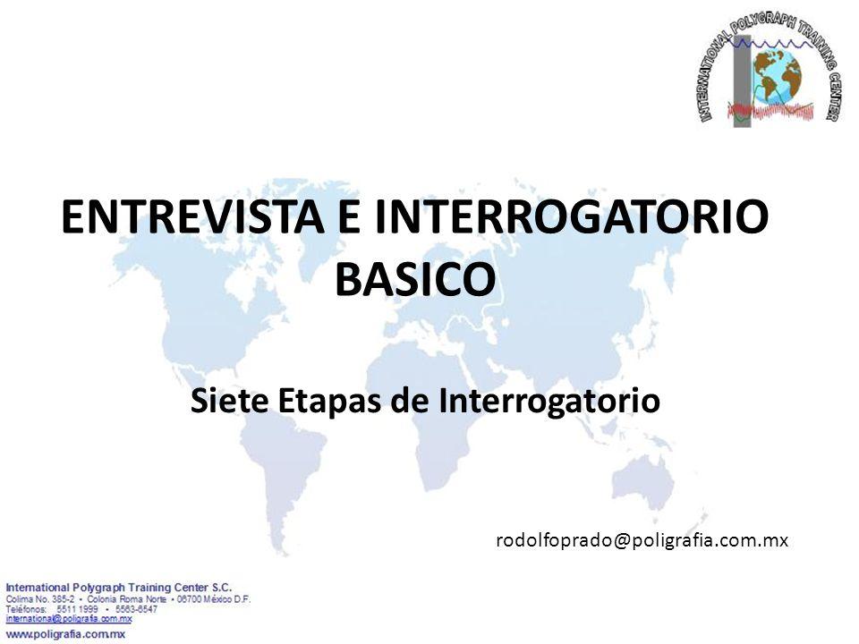 ENTREVISTA E INTERROGATORIO BASICO