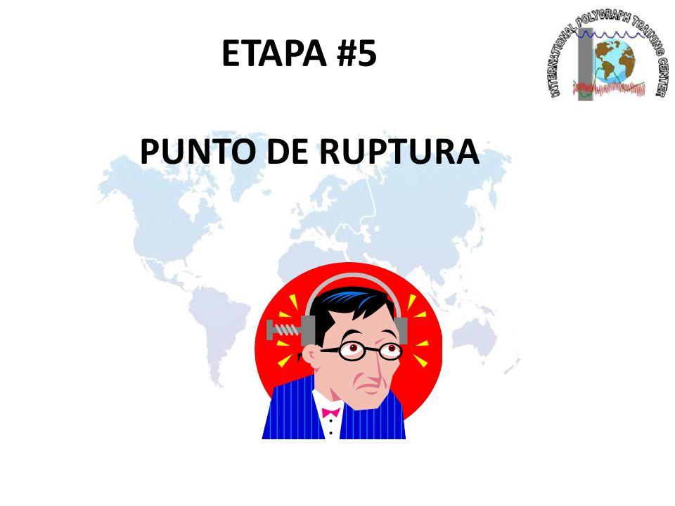 ETAPA #5 PUNTO DE RUPTURA
