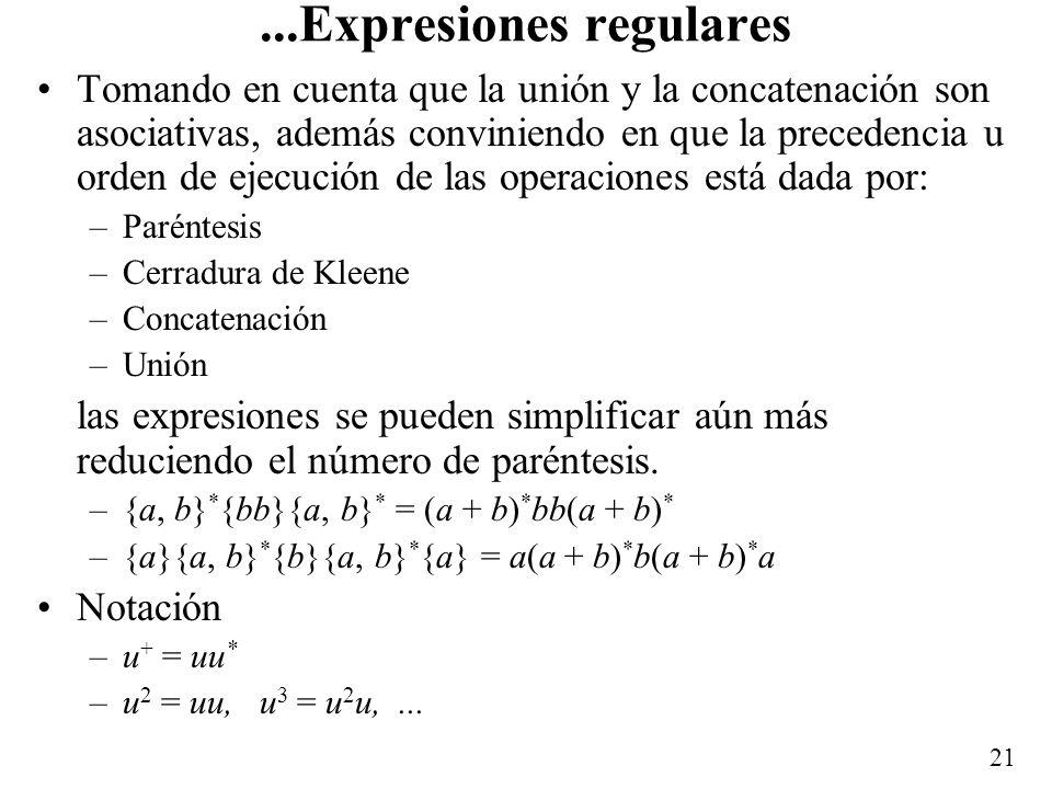 ...Expresiones regulares