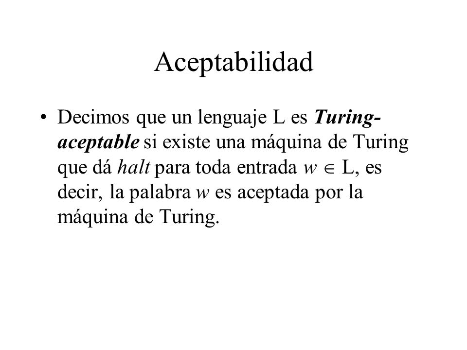 Aceptabilidad