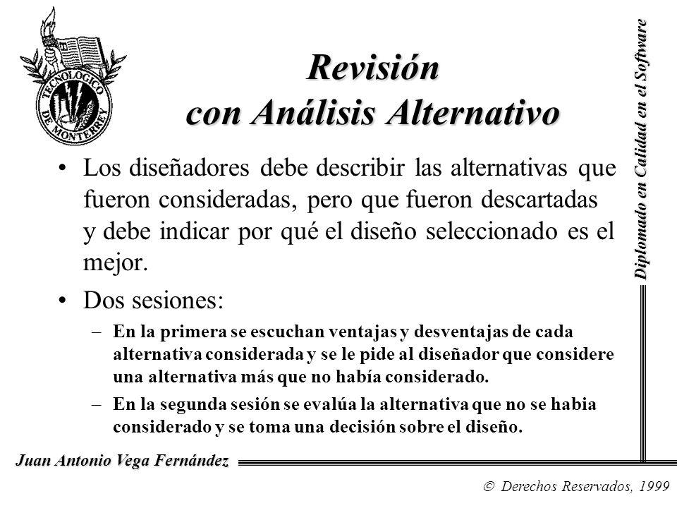 Revisión con Análisis Alternativo