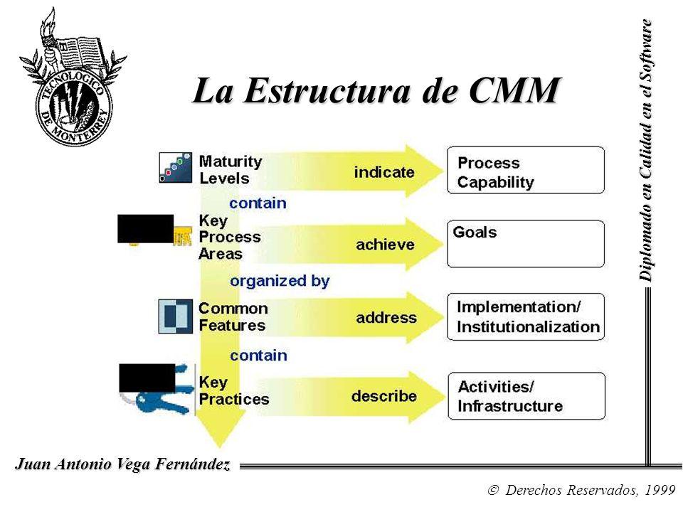 La Estructura de CMM Diplomado en Calidad en el Software NOTAS