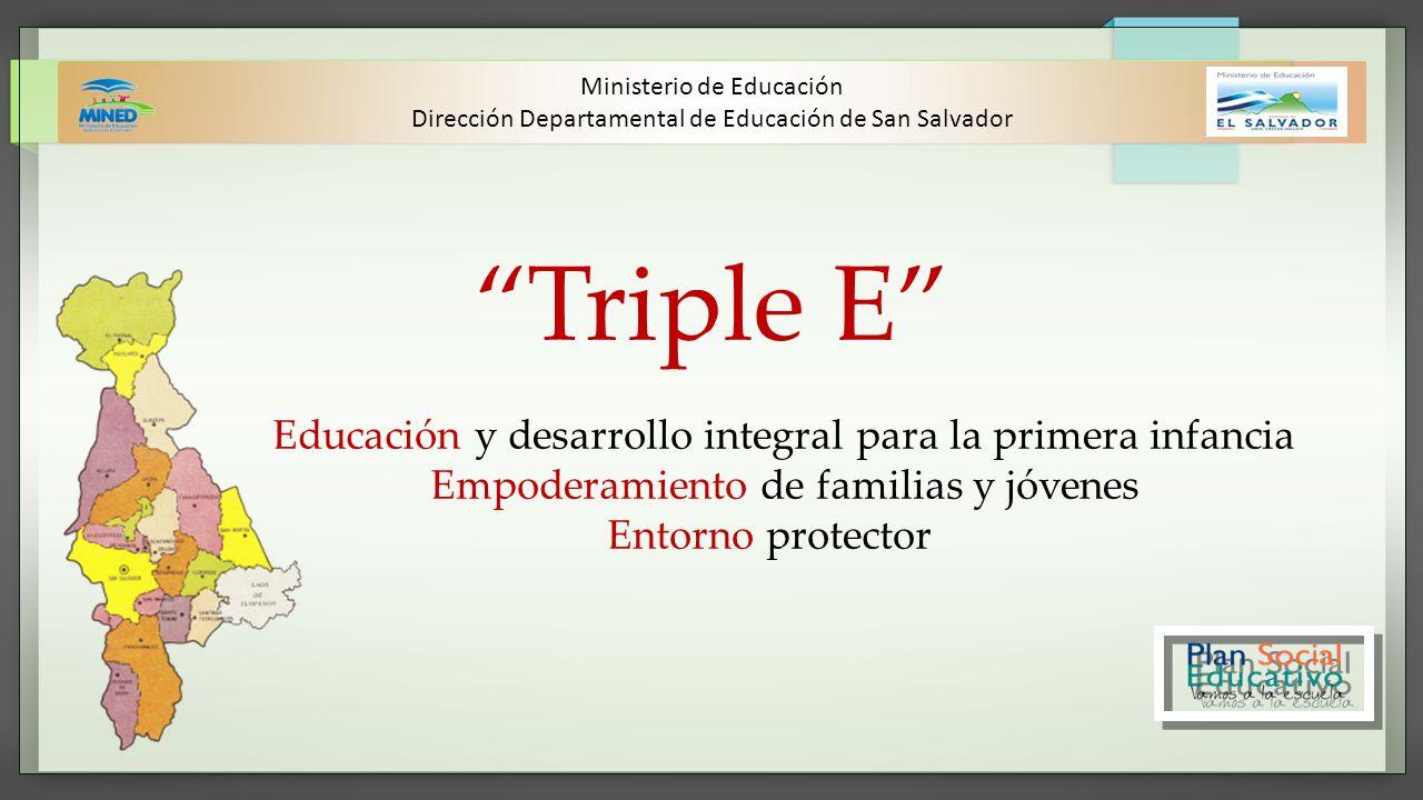 Triple E Empoderamiento de familias y jóvenes Entorno protector