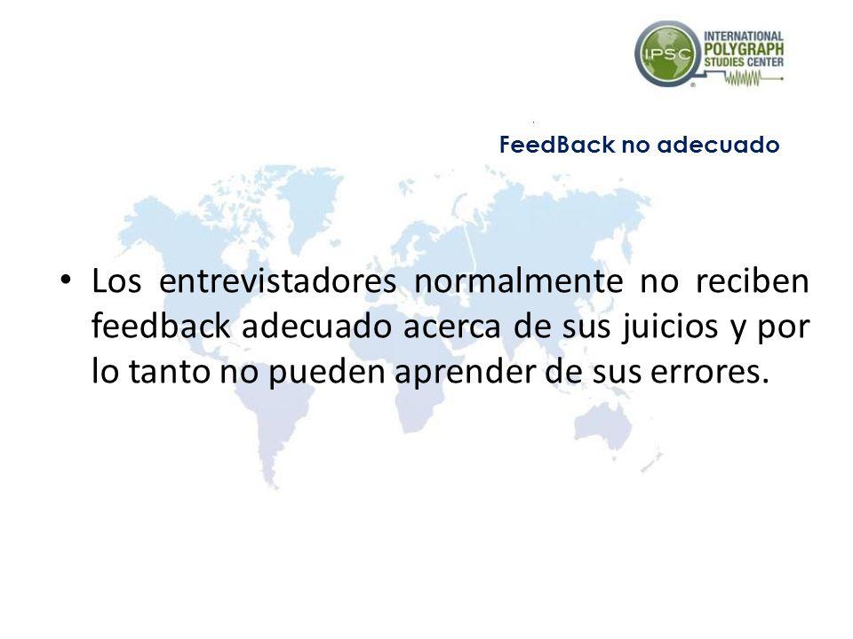 FeedBack no adecuado
