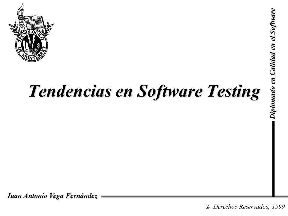 Tendencias en Software Testing