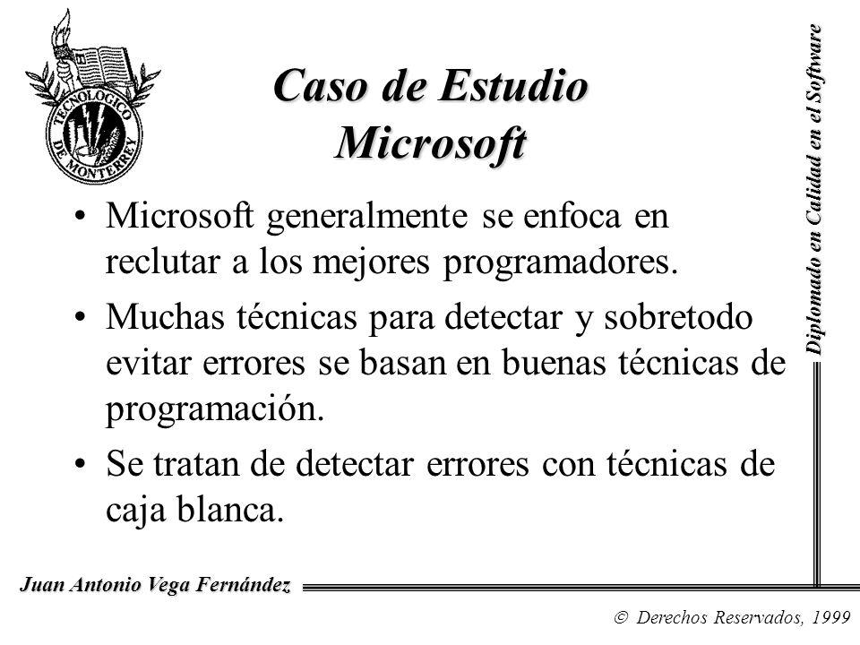 Caso de Estudio Microsoft