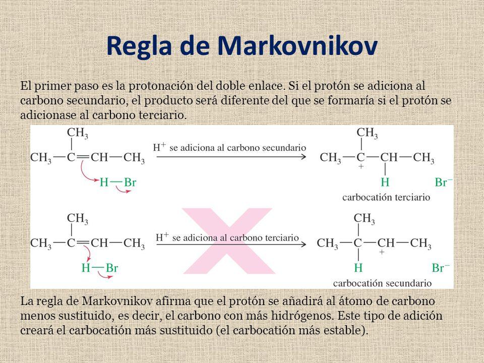Regla de Markovnikov