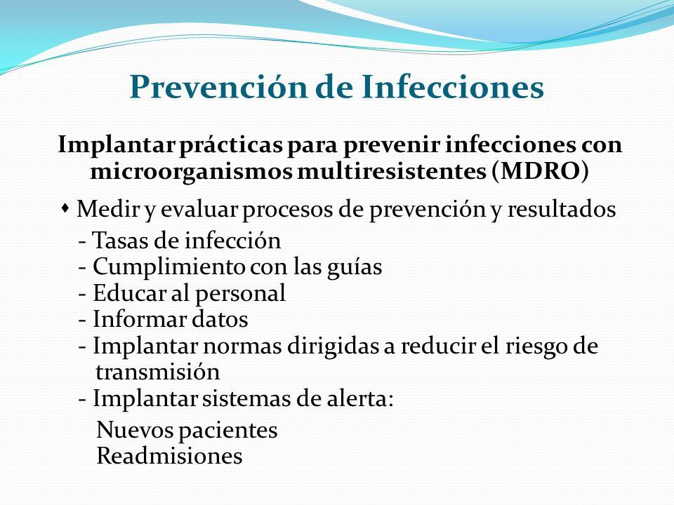 Prevención de Infecciones