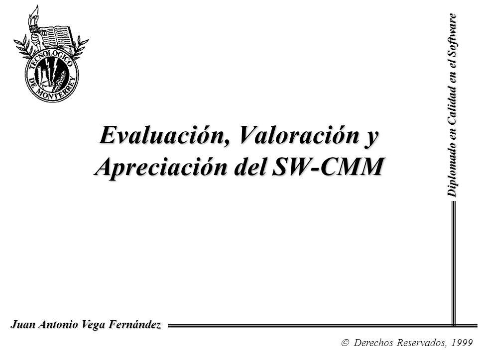 Evaluación, Valoración y Apreciación del SW-CMM